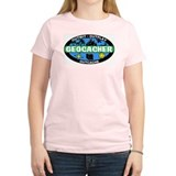 Geocacher Women's Pink T-Shirt