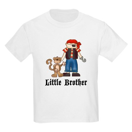 Pirate Little Brother Kids Light T-Shirt
