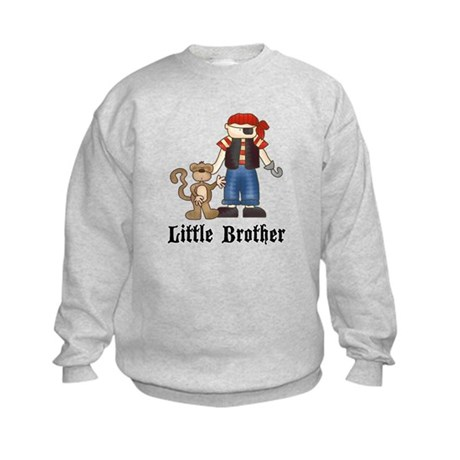Pirate Little Brother Kids Sweatshirt