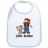 Pirate Little Brother Bib