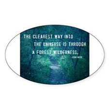 Wilderness quote Decal