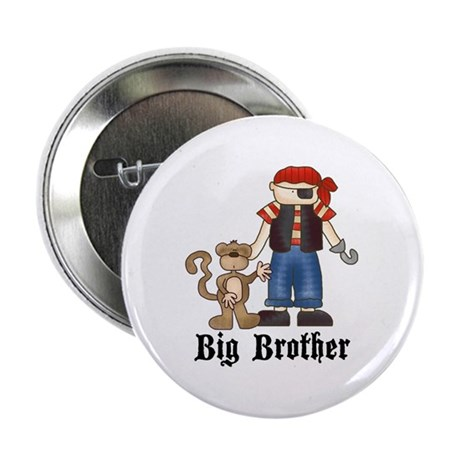 "Pirate Big Brother 2.25"" Button (100 pack)"