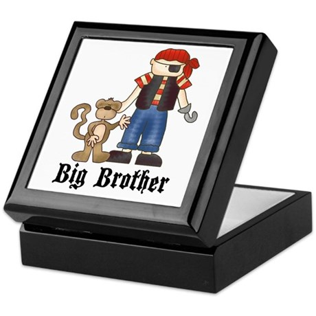 Pirate Big Brother Keepsake Box