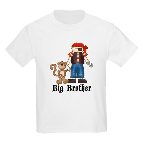 Pirate Big Brother Kids Light T-Shirt