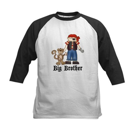 Pirate Big Brother Kids Baseball Jersey
