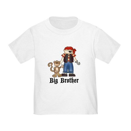 Pirate Big Brother Toddler T-Shirt