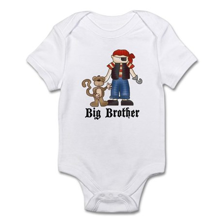Pirate Big Brother Infant Bodysuit