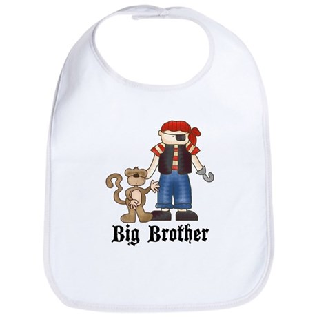 Pirate Big Brother Bib