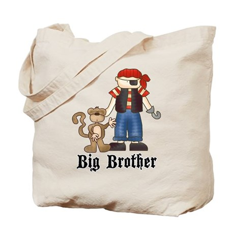 Pirate Big Brother Tote Bag