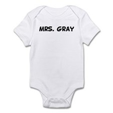 Mrs. Gray Infant Bodysuit