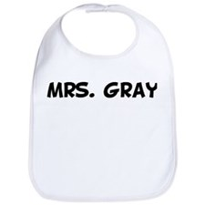 Mrs. Gray Bib