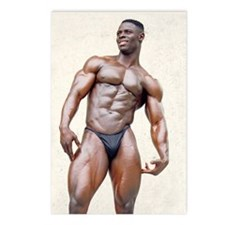 Postcards (8/Package) of Ghanaian bodybuilder Sam