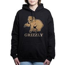 Grizzly Bear Women's Hooded Sweatshirt