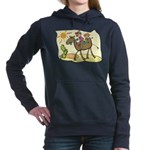 Cute Camel Women's Hooded Sweatshirt