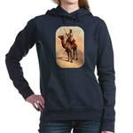Camel Art Women's Hooded Sweatshirt