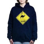 Camel Crossing Women's Hooded Sweatshirt