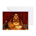 Laughing Buddha Greeting Cards (6)