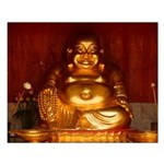 Laughing Buddha Small Poster
