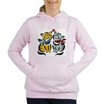 Cats In Love Women's Hooded Sweatshirt