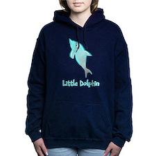 Little Dolphin Women's Hooded Sweatshirt