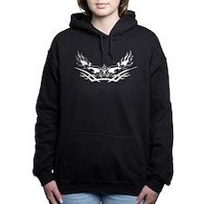 Flaming Eagle Women's Hooded Sweatshirt