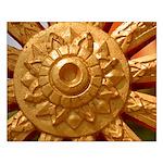 Dharma Wheel Small Poster