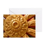 Dharma Wheel Greeting Cards (6)
