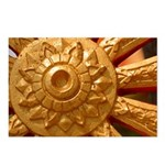 Dharma Wheel Postcards (8)