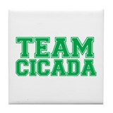 Team Cicada Tile Coaster
