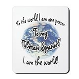 Tibetan spaniel Classic Mousepad