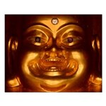 Happy Buddha Small Poster