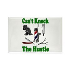 Cant Knock The Hustle-Green Rectangle Magnet (100