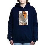 Fighting Cocks Women's Hooded Sweatshirt
