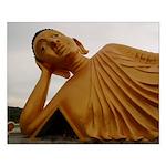 Sleeping Buddha Small Poster