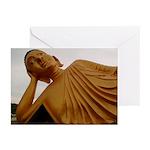 Sleeping Buddha Greeting Cards (6)
