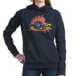 Heart Turtle Women's Hooded Sweatshirt