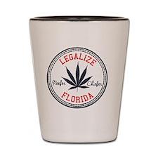 Legalize Florida Shot Glass