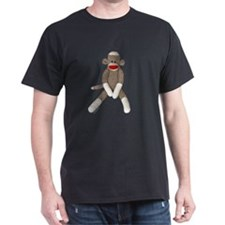 Sock Monkey Sitting T-Shirt