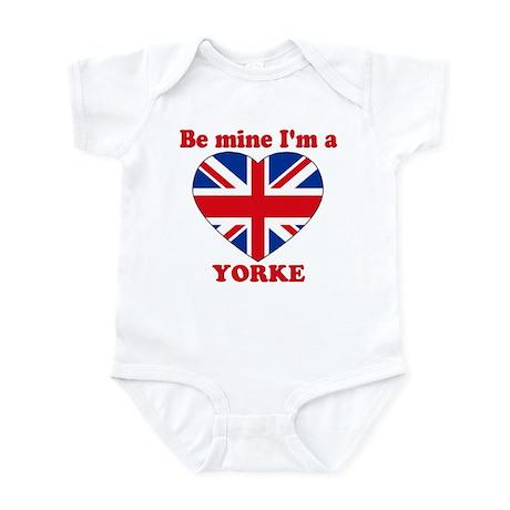 Yorke, Valentine's Day Infant Bodysuit