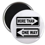 More Than One Way (Magnet)