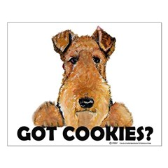 Irish Terrier Cookies Posters