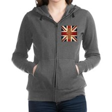 Cool Union jack Women's Zip Hoodie