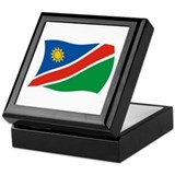 Namibia Flag 2 Keepsake Box