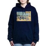 Hokusai Sazai Hall Women's Hooded Sweatshirt