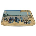 Hokusai Sazai Hall Bathmat