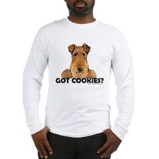 Lakeland Terrier Cookies Long Sleeve T-Shirt