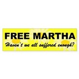 Bumper Sticker -- Free Martha