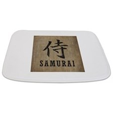Vintage Samurai Bathmat