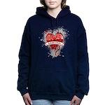 Heart Samurai Women's Hooded Sweatshirt