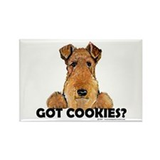 Lakeland Terrier Cookies Rectangle Magnet (10 pack